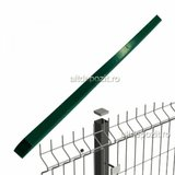 Stalp Gard Bordurat Verde 2MM